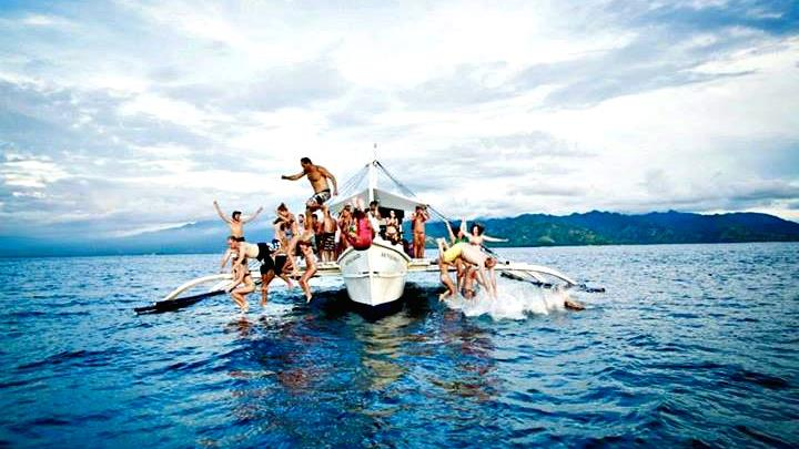 South Sea Nomad's Party boat