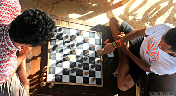 Chess Players Gili Trawangan
