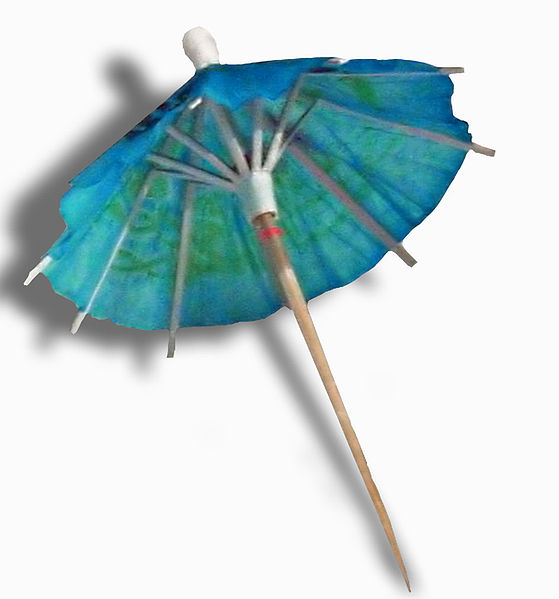 Cocktail Umbrella Side