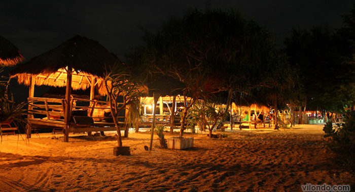 Gili Meno Beach At Night