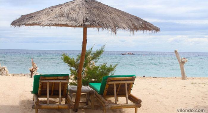 Gili Meno Beach Chairs