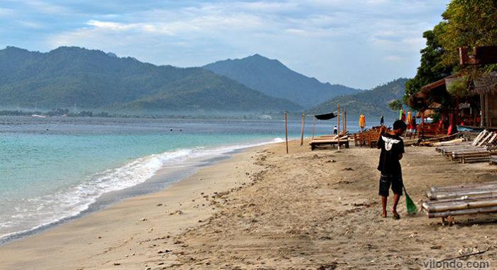Morning On Gili Air Beach