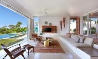 Living Area with Pool View - 353 Degrees North - Nusa Lembongan, Bali