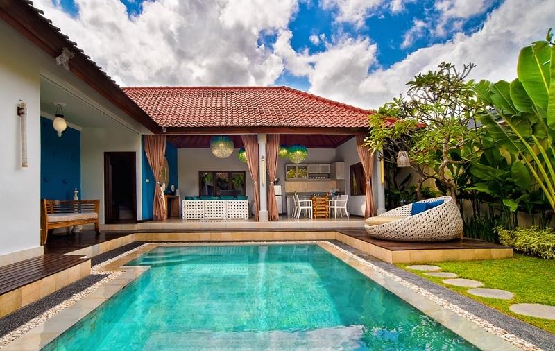 Gardens and Pool - 4S Villas - Seminyak, Bali