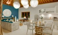 Living and Dining Area - 4S Villas - Seminyak, Bali