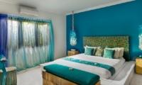 Bedroom with Lamps - 4S Villas - Seminyak, Bali