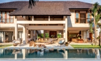 Pool Side Seating Area - Abaca Villas - Seminyak, Bali