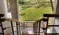 View from Stairs - Abaca Villas - Seminyak, Bali