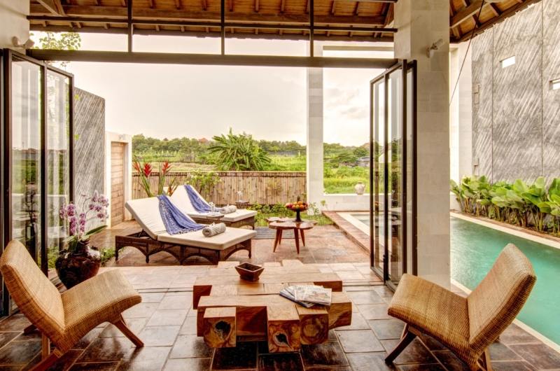 Sun Beds - Abaca Villas - Seminyak, Bali