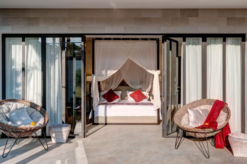 Bedroom and Balcony - Abaca Villas - Seminyak, Bali