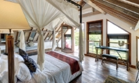 Spacious Bedroom with Seating Area - Abaca Villas - Seminyak, Bali