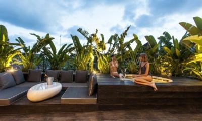 Open Plan Lounge Area - AB Villa - Seminyak, Bali