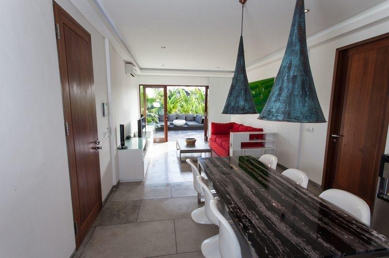 Living and Dining Area - AB Villa - Seminyak, Bali