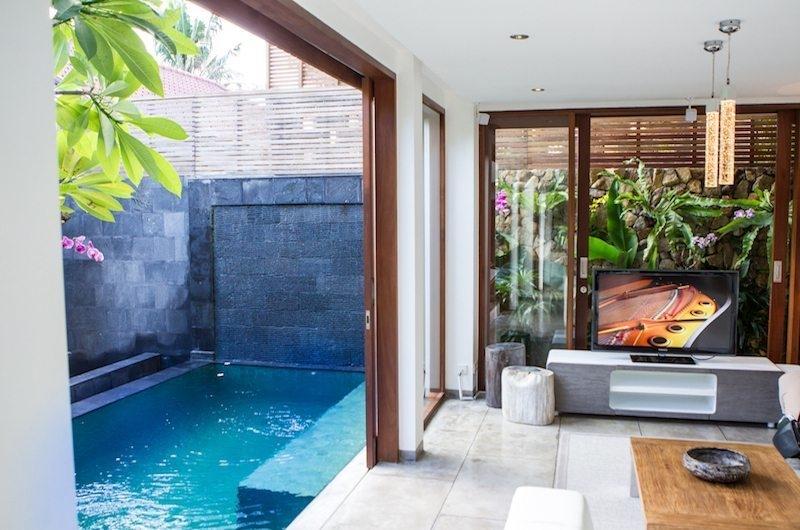 Pool Side - AB Villa - Seminyak, Bali