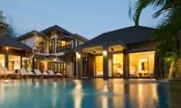Night View - Akara Villas 3 - Seminyak, Bali