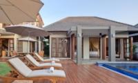 Pool Side Loungers - Akara Villas 3 - Seminyak, Bali
