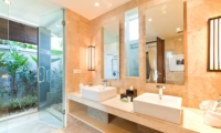 His and Hers Bathroom - Akara Villas 3 - Seminyak, Bali
