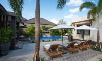 Pool Side - Akara Villas 8 - Seminyak, Bali