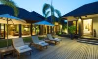 Reclining Sun Loungers - Akara Villas 8 - Seminyak, Bali