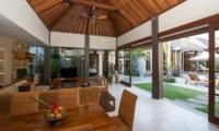 Dining Area with View - Akara Villas 8 - Seminyak, Bali