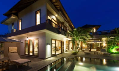 Night View - Akara Villas M - Seminyak, Bali