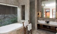 Bathroom with Bathtub - Akara Villas M - Seminyak, Bali
