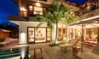 Reclining Sun Loungers - Akara Villas M - Seminyak, Bali
