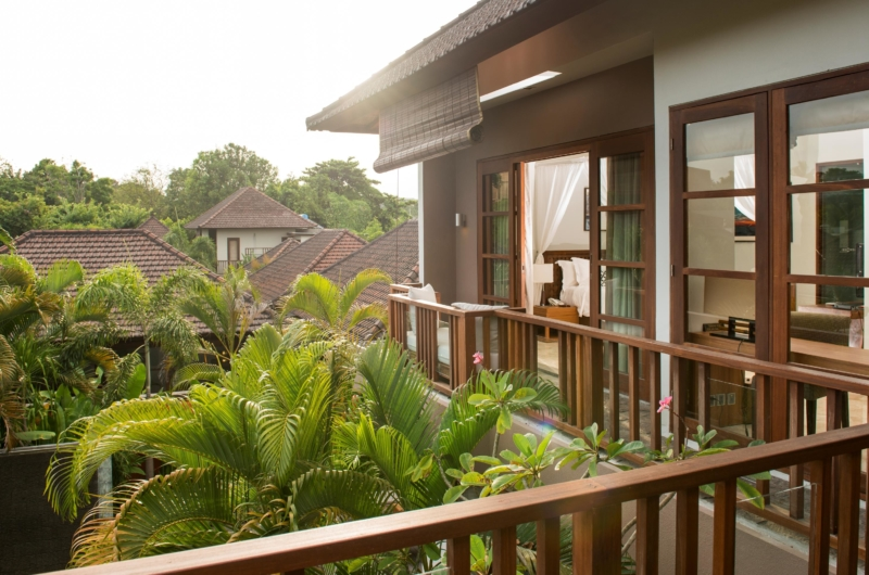 View from Balcony - Akara Villas M - Seminyak, Bali