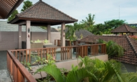 Up Stairs Seating Area - Akara Villas M - Seminyak, Bali