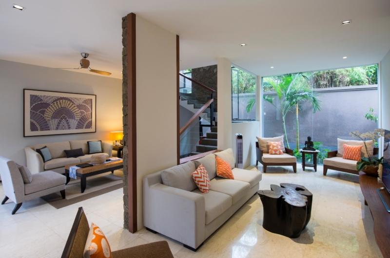TV Room - Akara Villas M - Seminyak, Bali