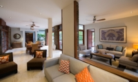 Living and Dining Area - Akara Villas M - Seminyak, Bali