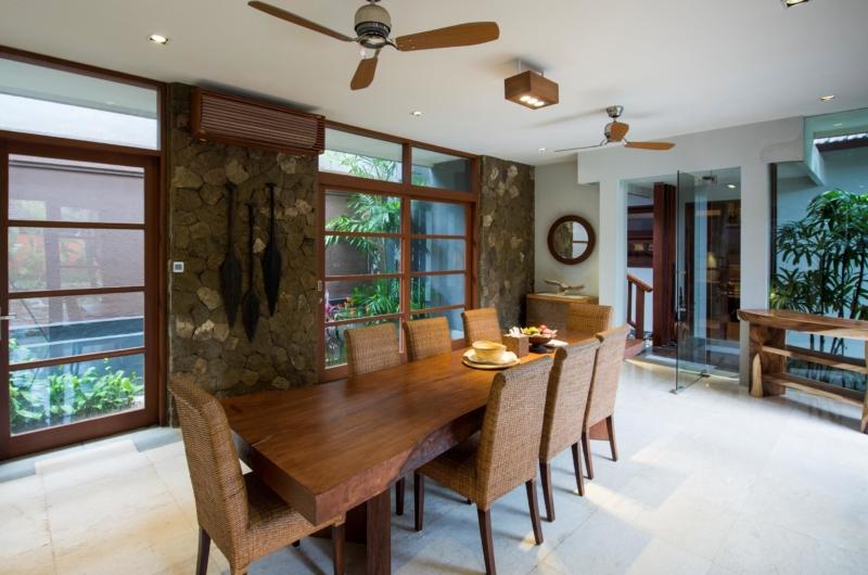 Dining Area - Akara Villas M - Seminyak, Bali