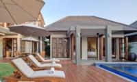 Reclining Sun Loungers - Akara Villas - Seminyak, Bali