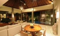 Living Area with TV - Akara Villas - Seminyak, Bali