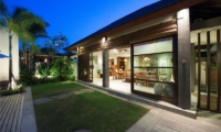 Living Area View from Garden - Akara Villas - Seminyak, Bali