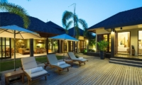 Sun Loungers - Akara Villas - Seminyak, Bali