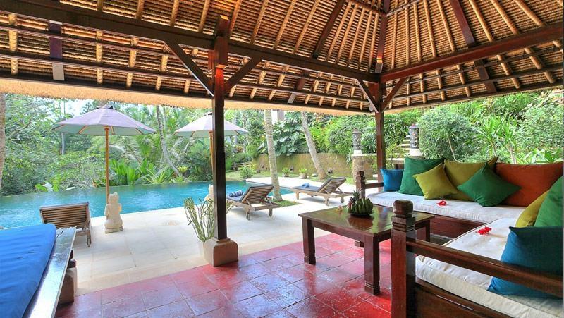 Living Area - Alamanda Villa - Ubud, Bali