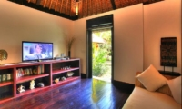 Lounge Area with TV - Alamanda Villa - Ubud, Bali