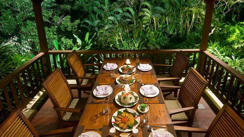Dining Area - Alamanda Villa - Ubud, Bali