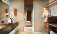 Bathroom with Mirror - Alila Ubud Villas - Ubud, Bali