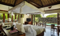 Bedroom with Pool View - Alila Ubud Villas - Ubud, Bali