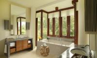 Bathroom with Bathtub - Alila Ubud Villas - Ubud, Bali