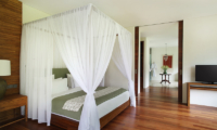 Bedroom with TV - Alila Ubud Villas - Ubud, Bali