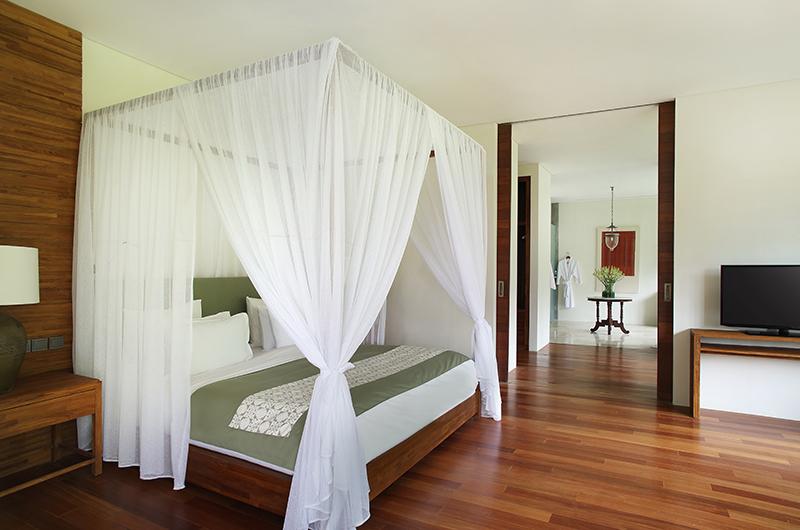 Bedroom with TV - Alila Ubud Villas - Ubud, Bali