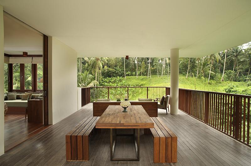 Open Plan Dining Area - Alila Ubud Villas - Ubud, Bali