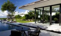 Pool Side Dining - Alila Villas Uluwatu - Uluwatu, Bali