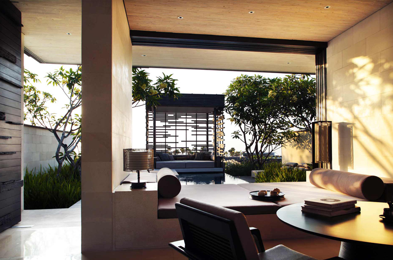 Pool Side Seating Area - Alila Villas Uluwatu - Uluwatu, Bali