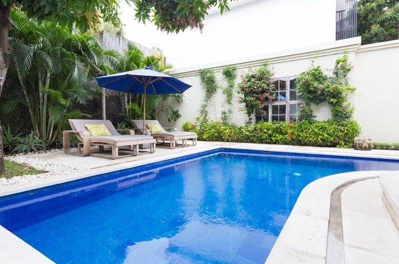 Reclining Sun Loungers – Allure Villas – Seminyak, Bali