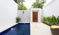 Pool Side - Allure Villas - Seminyak, Bali
