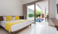 Bedroom with Pool View - Allure Villas - Seminyak, Bali